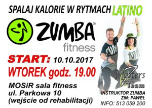 Proszowice Zumba fitness MOSiR