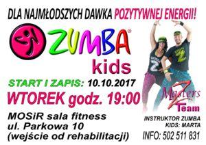 Proszowice Zumba kids MOSiR